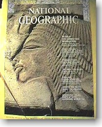 National Geographic booklet cover.