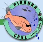 Piranha Cove Pet Store Logo
